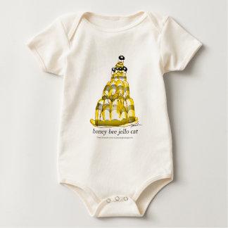 Body Para Bebê jello da abelha do mel dos fernandes tony