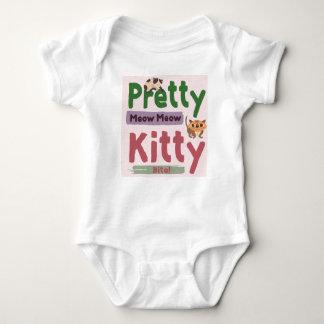 Body Para Bebê Jérsei bonito Bodysuite do bebê do gatinho