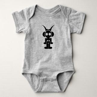 Body Para Bebê Jérsei do BEBÊ de ASTRO - logotipo clássico