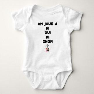 Body Para Bebê JOGA-SE NEM SIM NEM À GNON? - Jogos de palavras -