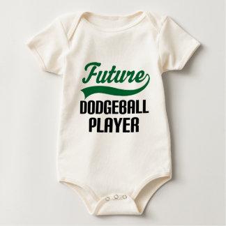 Body Para Bebê Jogador de Dodgeball (futuro)