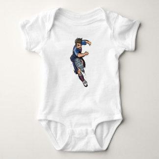Body Para Bebê Jogador de futebol