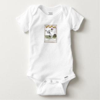 Body Para Bebê jogador de futebol do direita de Inglaterra