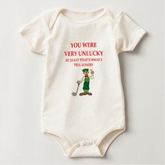 Body Para Bebê jogador de golfe