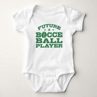 Body Para Bebê Jogador futuro da bola de Bocce