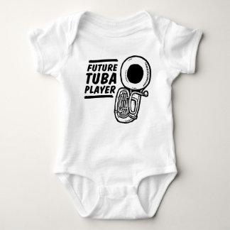 Body Para Bebê Jogador futuro da tuba