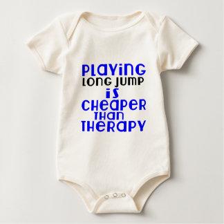 Body Para Bebê Jogando o salto longo mais barato do que a terapia