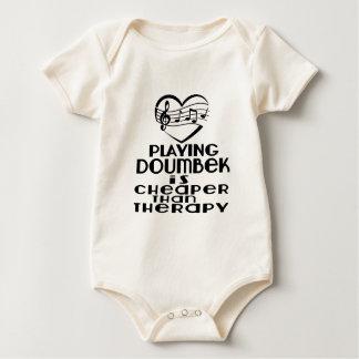Body Para Bebê Jogar Doumbek é mais barato do que a terapia
