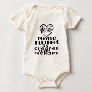 Body Para Bebê Jogar flautas é mais barato do que a terapia
