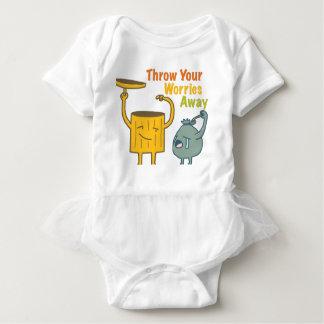 Body Para Bebê Jogue seu Bodysuit ausente do bebê das