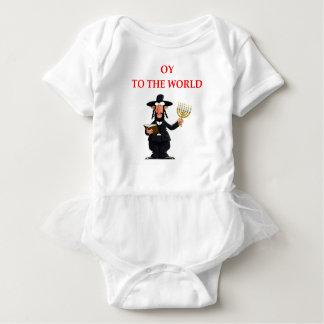 Body Para Bebê judaico