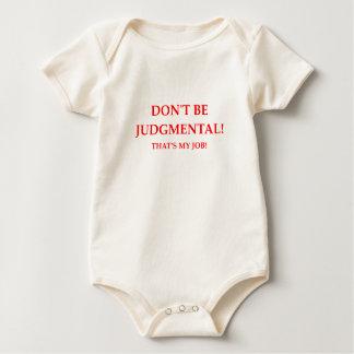 Body Para Bebê juiz
