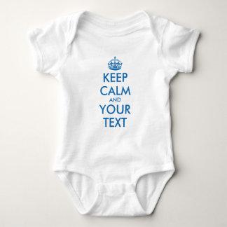 Body Para Bebê Jumpsuit infantil do creeper do bebê azul de