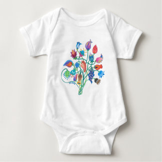 Body Para Bebê Jumpsuit irrisório do bebê do buquê
