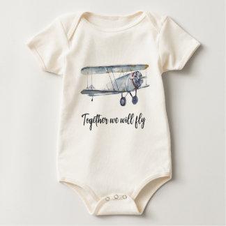 Body Para Bebê Junto nós voaremos
