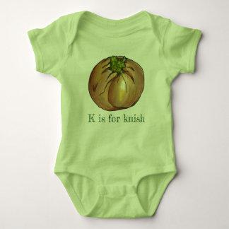 Body Para Bebê K é para a comida judaica do supermercado fino de