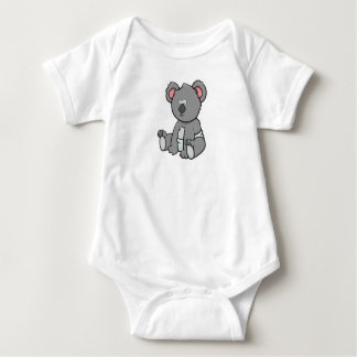 Body Para Bebê Koala customizável do bebê