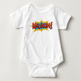 Body Para Bebê Krunch cómico!
