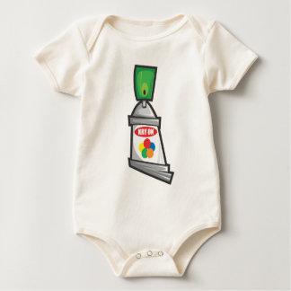 Body Para Bebê Kry sobre