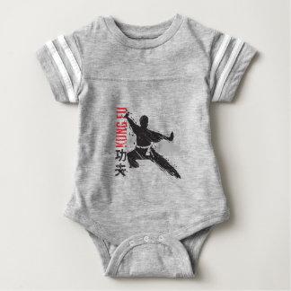 Body Para Bebê Kung Fu