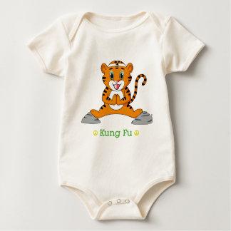 Body Para Bebê Kung Fu Tiger™