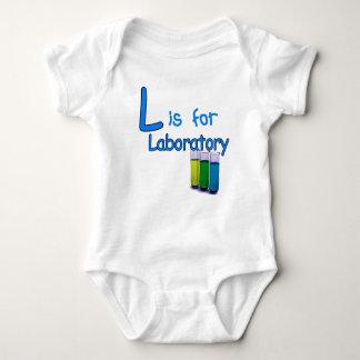 Body Para Bebê L é para o laboratório