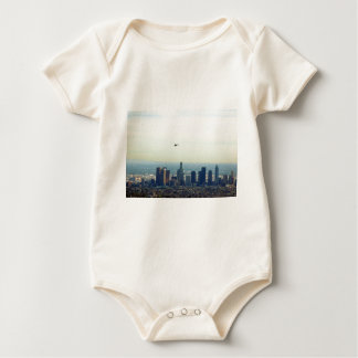 Body Para Bebê LA e helicóptero