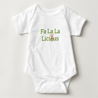 Body Para Bebê La Licious do La do Fa