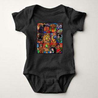 Body Para Bebê La Luna, EL, solenóide e a sereia