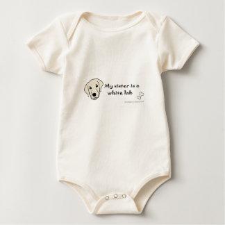 Body Para Bebê laboratório branco