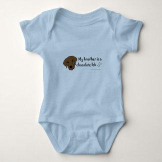Body Para Bebê laboratório do chocolate