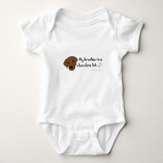 Body Para Bebê laboratório do chocolate - mais produz