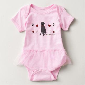 Body Para Bebê laboratório preto