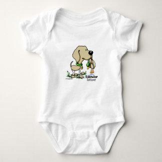 Body Para Bebê Labrador retriever - amarelo