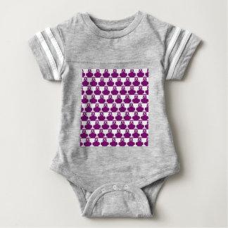 Body Para Bebê Laço roxo do Victorian