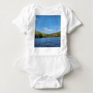 Body Para Bebê Lago escondido Kayaking valley