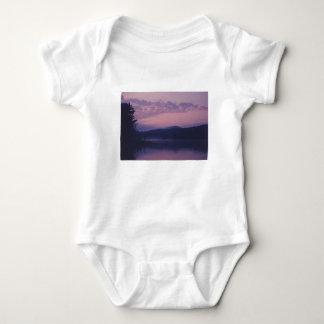 Body Para Bebê Lago indiano, parque de Adirondack, NY