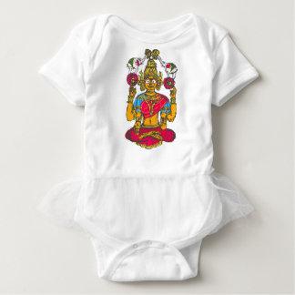 Body Para Bebê Lakshmi/Shridebi na pose da meditação