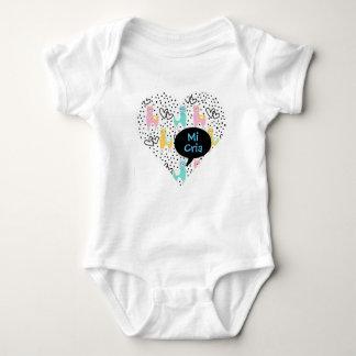 Body Para Bebê Lama, meu lama do bebê, MI Cria, Bodysuit do bebê,