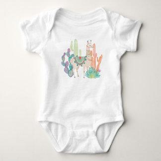 Body Para Bebê Lamas bonitos II