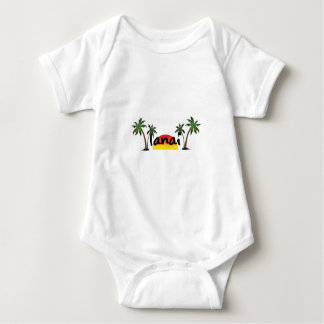 Body Para Bebê Lanai Havaí