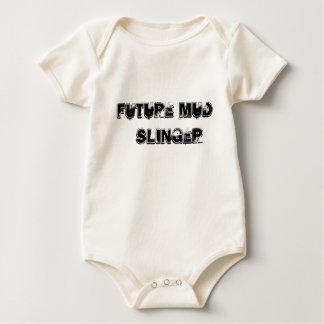 Body Para Bebê Lançador futuro da lama