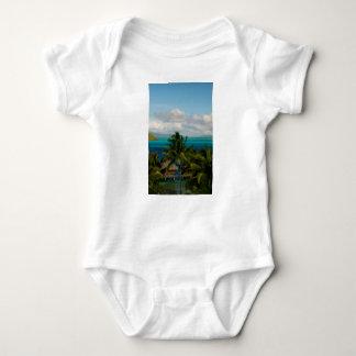 Body Para Bebê Landscape of bora bora