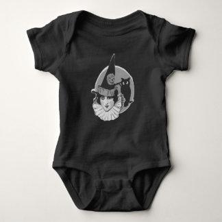 Body Para Bebê Lanterna bonito de Jack O da coruja da Lua cheia