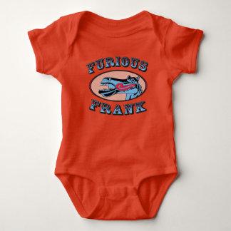 Body Para Bebê Laranja furioso do bebê de Frank
