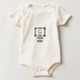 Body Para Bebê lavagem do resplendor do banheiro