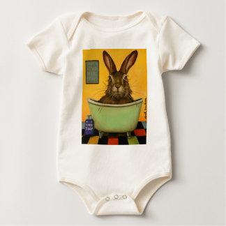 Body Para Bebê Lave sua lebre