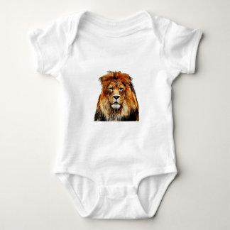 Body Para Bebê Leão africano