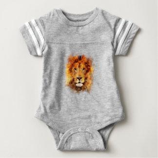 Body Para Bebê Leão Aquarela