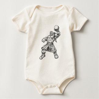 Body Para Bebê leão das montanhas
